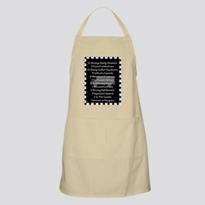 funeral proof 8 Apron