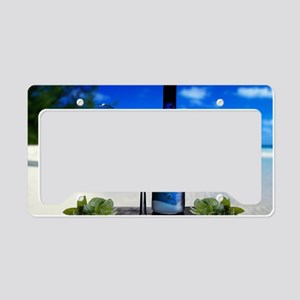 Glass of Summer License Plate Holder