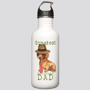 dachshund dad Stainless Water Bottle 1.0L