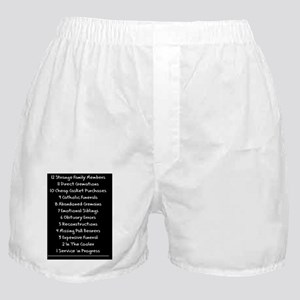 funeral proof 2 Boxer Shorts
