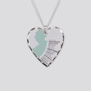 JERSEY SHORE Necklace Heart Charm