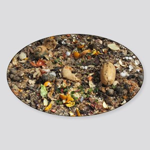 Poor Man's Compost Pile Sticker (Oval)