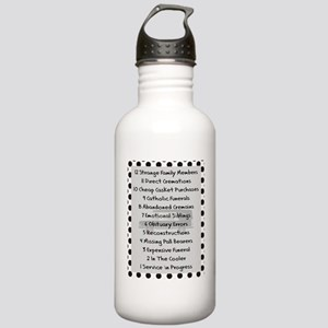 funeral proof 7 Stainless Water Bottle 1.0L