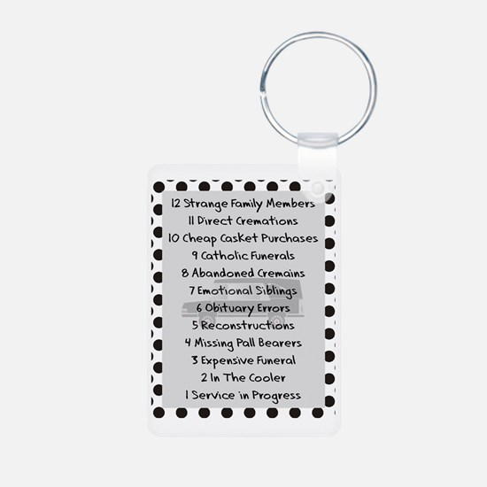 funeral proof 7 Keychains