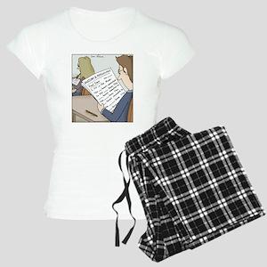 Anatomy Test Women's Light Pajamas