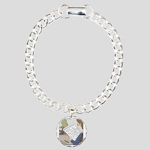 Anatomy Test Charm Bracelet, One Charm
