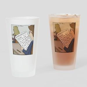 Anatomy Test Drinking Glass
