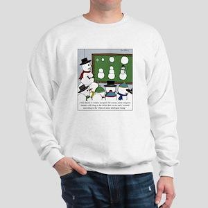 Snowman Evolution Sweatshirt