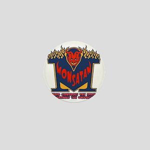 monsatan1-blu-T Mini Button
