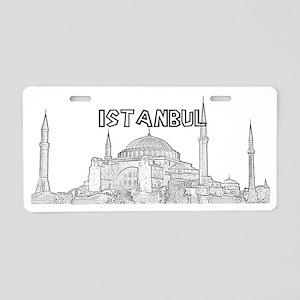 Istanbul_15x6_HagiaSophia_B Aluminum License Plate