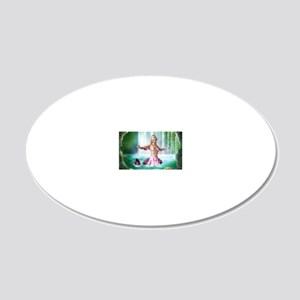 pm_Business Card Case 20x12 Oval Wall Decal