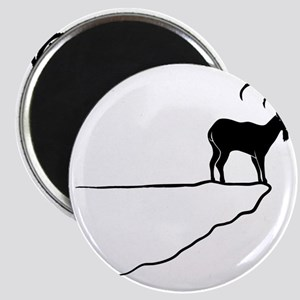 ibex capricorn steinbock mountain goat shee Magnet