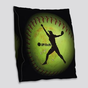 iPitch Fastpitch Softball (right handed) Burlap Th
