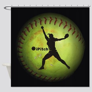 iPitch Fastpitch Softball (right handed) Shower Cu