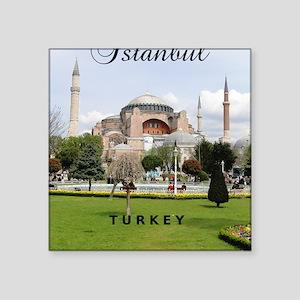 """Istanbul_5.415x7.9688_iPadS Square Sticker 3"""" x 3"""""""