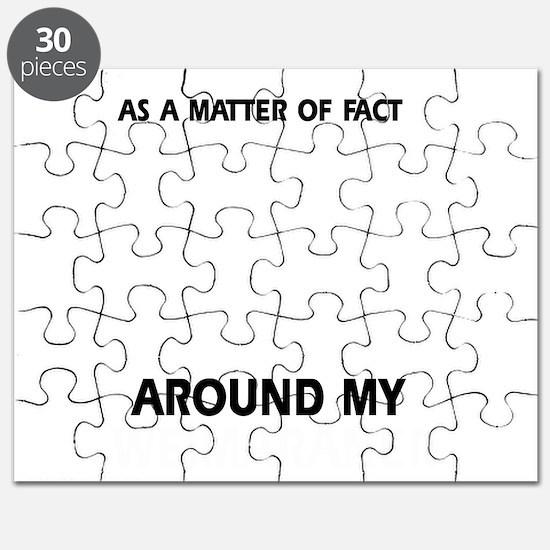 Weimaraner Dog  designs Puzzle