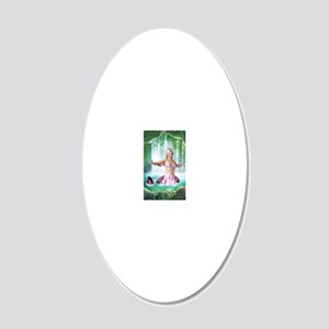 pm_clipboard 20x12 Oval Wall Decal