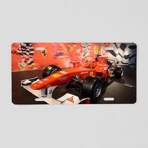 formula 1 Aluminum License Plate