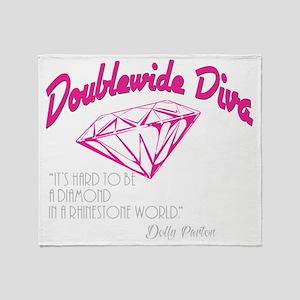 Doublewide Diva Diamond Throw Blanket
