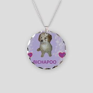 BICHAPOO Necklace Circle Charm