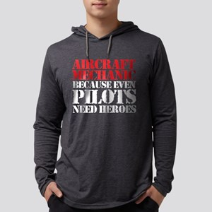 Aircraft Mechanic Long Sleeve T-Shirt