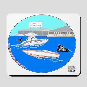 Color Boats Mousepad