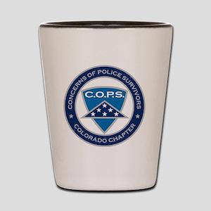 C.O.P.S. Logo Shot Glass