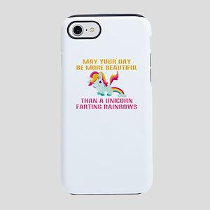 Unicorn Farting Rainbows iPhone 7 Tough Case
