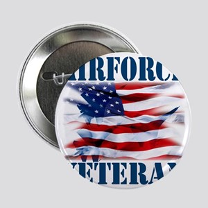 "Airforce Veteran copy 2.25"" Button"