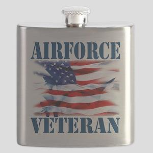 Airforce Veteran copy Flask