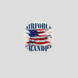 Airforce Grandpa Mini Button
