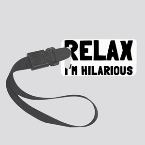 relax Small Luggage Tag