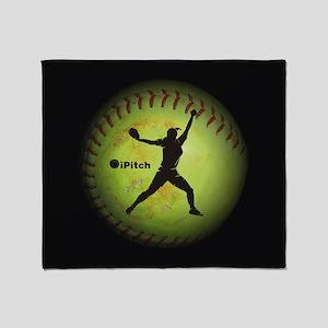 iPitch Fastpitch Softball (left handed) Throw Blan