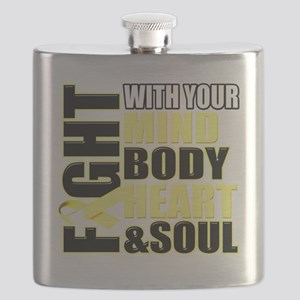Fight Against Cancer Flask
