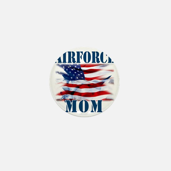 Airforce Mom Mini Button