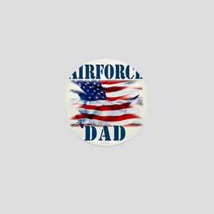 Airforce Dad Mini Button