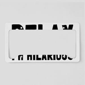 relaxrectangle License Plate Holder