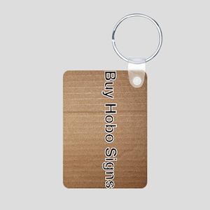 Buy Hobo Signs Aluminum Photo Keychain