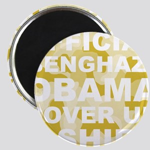 obama benghazi cover up camo l Magnet