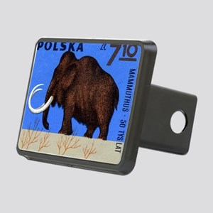 Vintage 1966 Poland Mammot Rectangular Hitch Cover