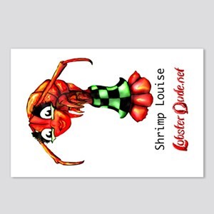 Shrimp Louise Postcards (Package of 8)