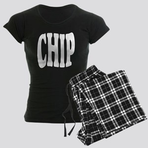 chip (see old block match) Women's Dark Pajamas