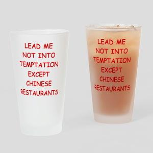 chinese restaurant Drinking Glass