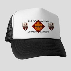 Mesh Back Hat w/ 120th Engineers & Thunderbird