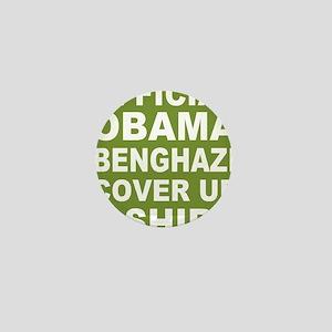 Obama benghazi cover up g Mini Button
