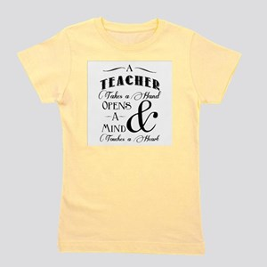 Teachers open minds Girl's Tee