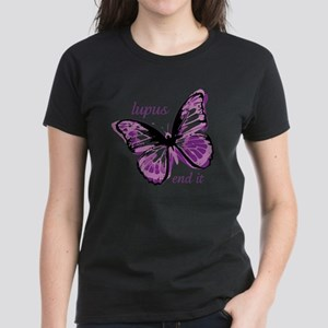 lupus end it Women's Dark T-Shirt