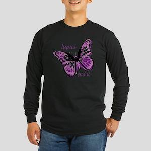 lupus end it Long Sleeve Dark T-Shirt