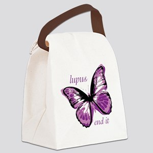 lupus end it Canvas Lunch Bag
