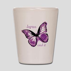 lupus end it Shot Glass